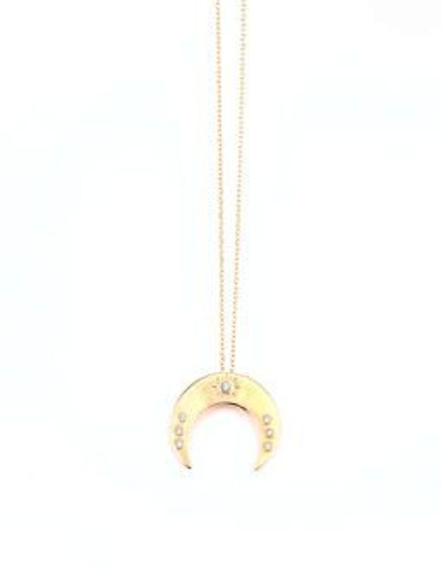 Collier lune Luj Paris