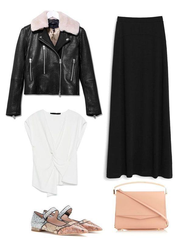 Comment porter une jupe longue avec style