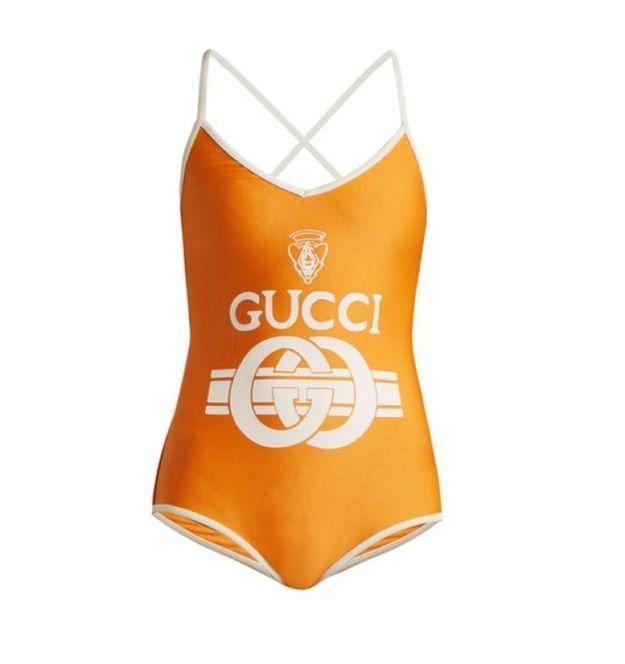Maillot de bain une pièce Gucci
