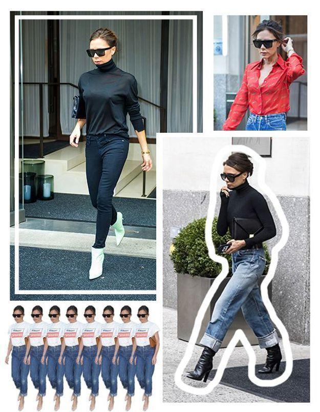 5 looks de Victoria Beckham que tout le monde peut copier