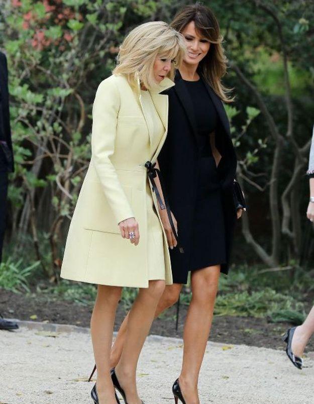 Brigitte et Melania, soeurs d'escarpins