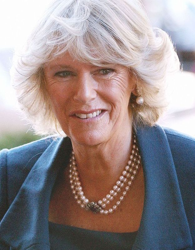 Camilla Parker-Bowles en novembre 2005 au National Building Museum à Washington