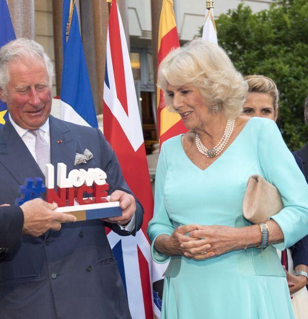 Camilla Parker-Bowles et le Prince Charles, en mai 2018 lors d'une réception