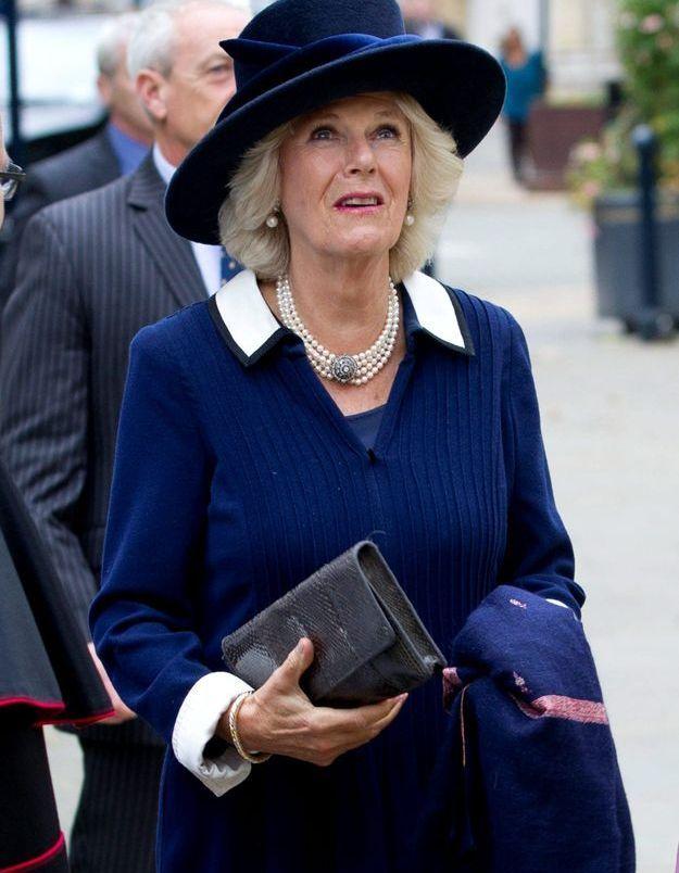 La duchesse de Cornouailles, en octobre 2014 à la Cathédrale de Birmingham