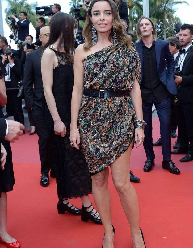 La robe d'Elodie Bouchez