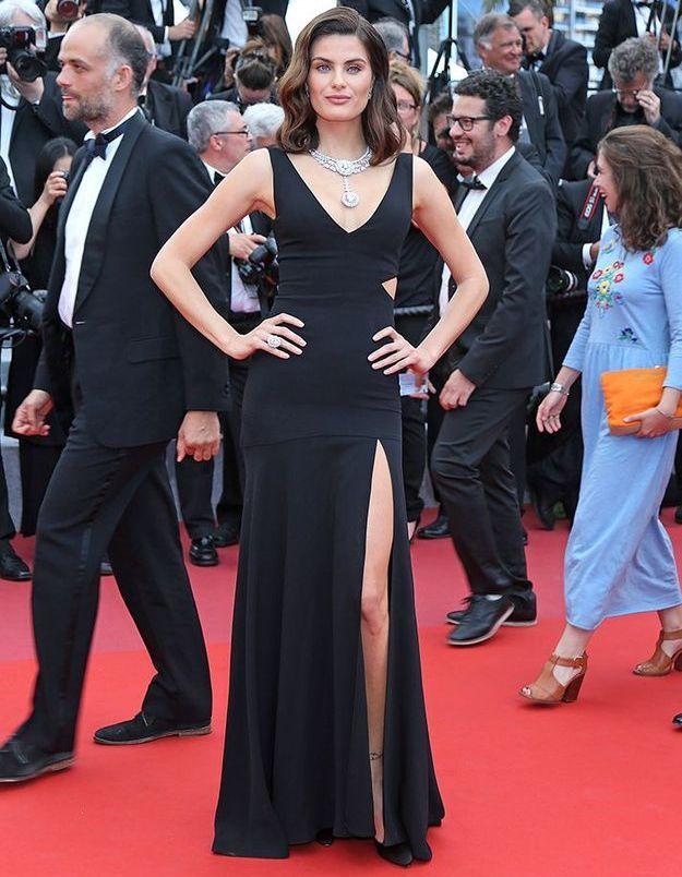 La robe d'Isabeli Fontana