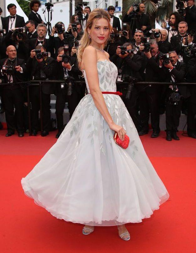 La robe de Petra Nemcova