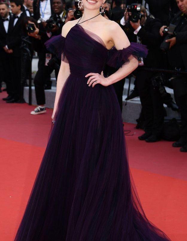 La robe Dior d'Emilia Clarke