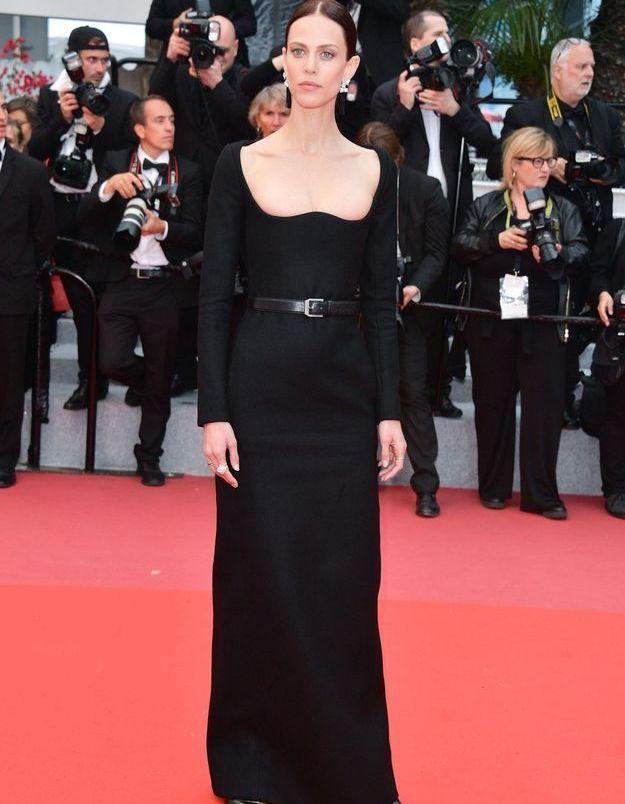La robe Saint Laurent d'Aymeline Valade