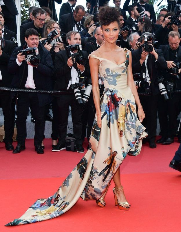 La robe Vivienne Westwood de Thandie Newton