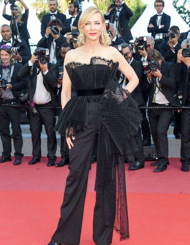 Le costume Givenchy de Cate Blanchett