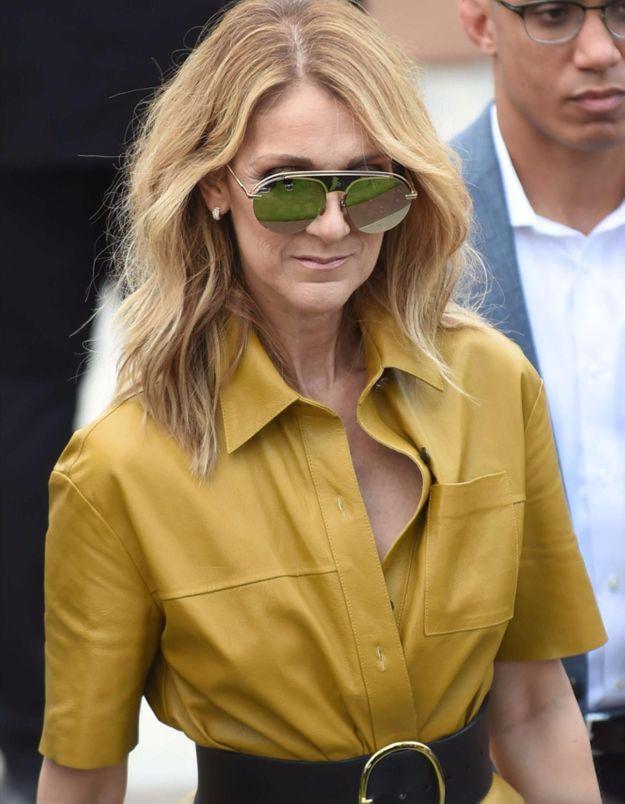 Céline Dion en combinaison transparente prouve qu'elle est toujours aussi sexy