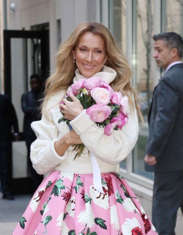Céline Dion en robe de mariée : elle continue ses folies mode