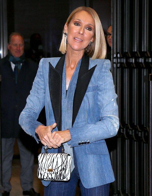 Céline Dion : sa nouvelle manière de porter la chemise blanche est audacieuse