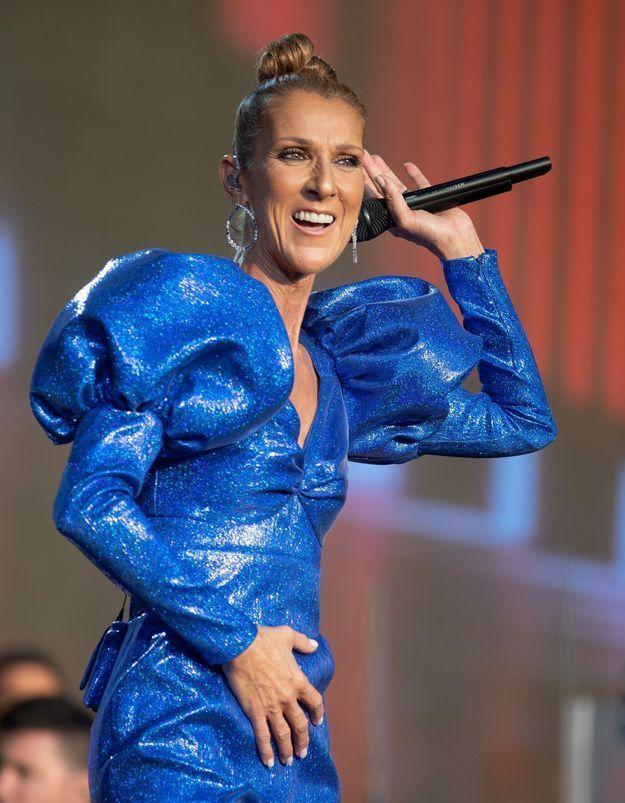 Céline Dion : tenues de scènes incroyables et audacieuses à Hyde Park