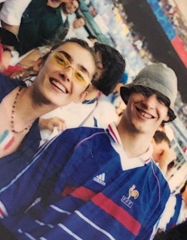 Melle Agnes en 1998