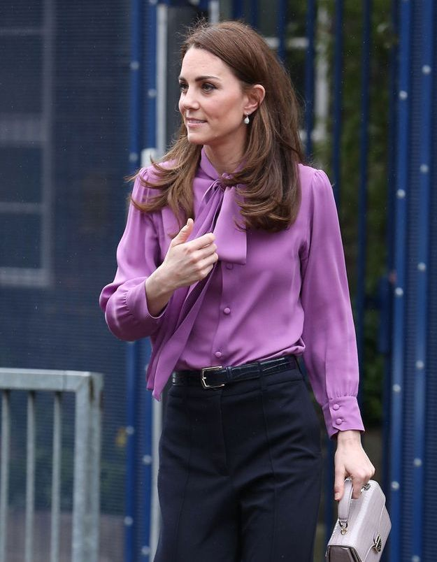 Kate Middleton : élégante en veste en tweed intemporelle