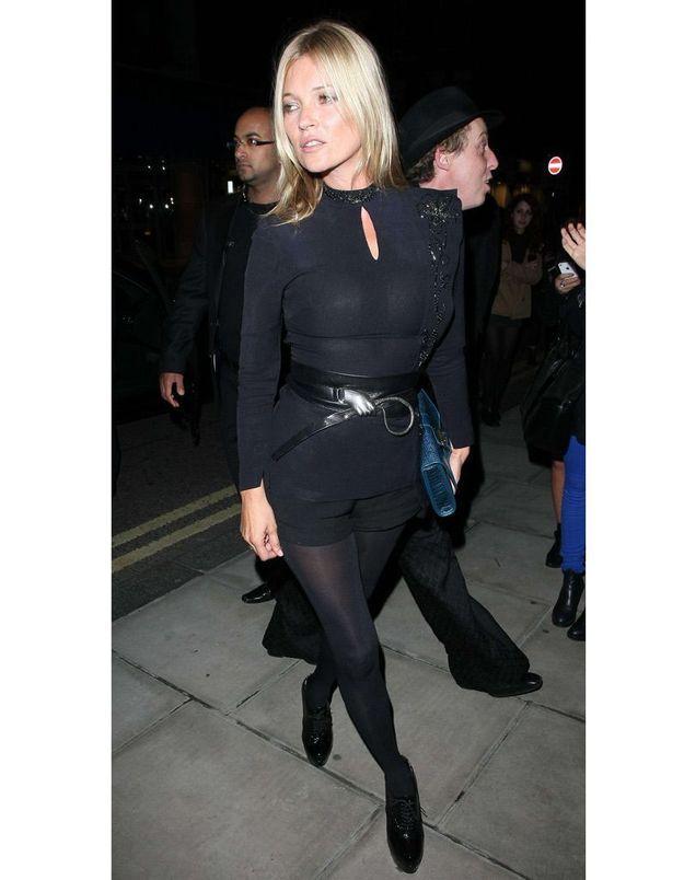 Kate Moss à la soirée de « W » magazine en 2013