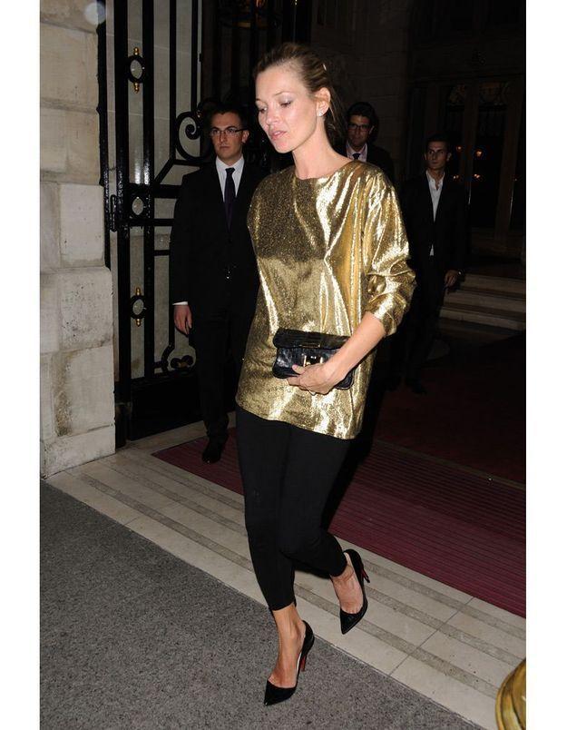 "Kate Moss à la soirée "" Kate Moss for Fred """