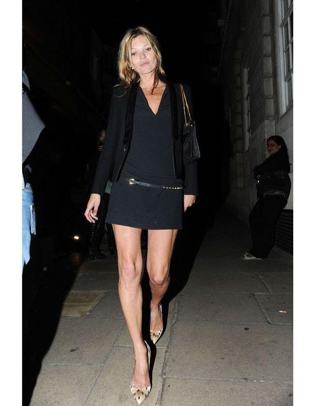 Kate Moss à la soirée Tommy Hilfiger
