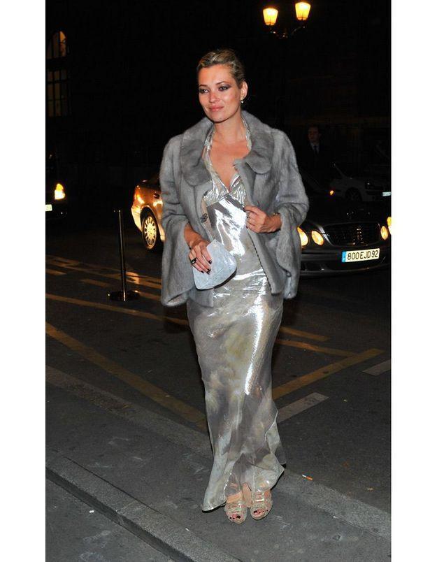 Kate Moss à une soirée Fendi en 2009