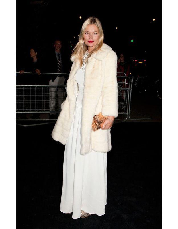 Kate Moss à une soirée Moet & Chandon en 2011