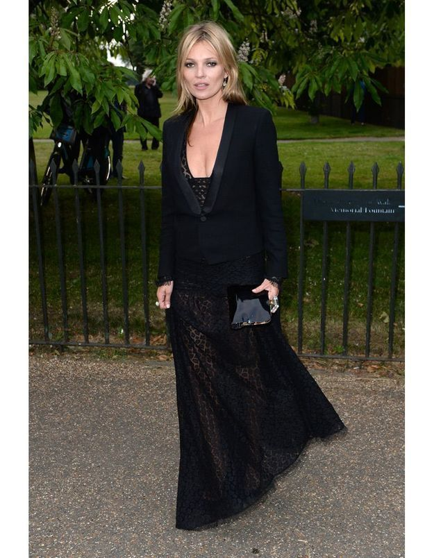 Kate Moss au vernissage de la Serpentine Gallery en 2013