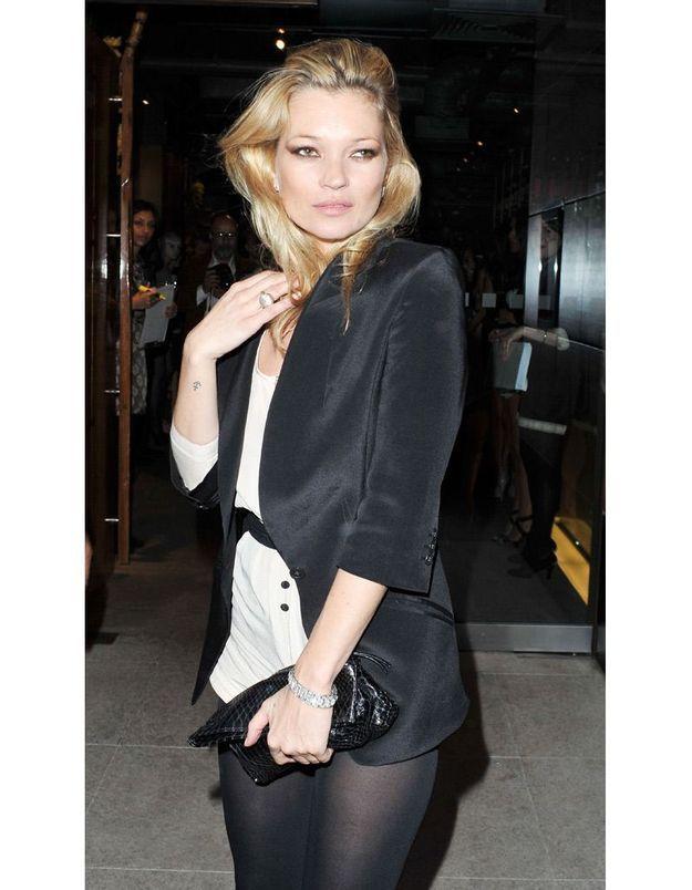 Kate Moss en mai 2010 pour la sortie de sa collection pour Topshop