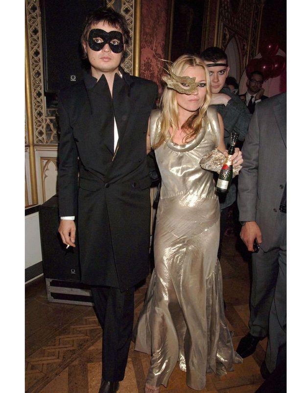 Kate Moss et Pete Doherty à la Moet and Chandon en 2006