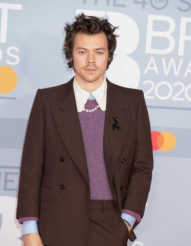 Harry Styles en bas résille : héros de la mode unisexe pour un shooting