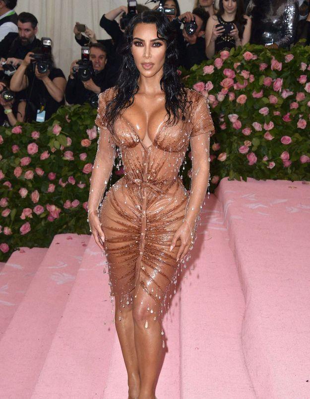 Histoire d'une tenue : la robe effet mouillé de Kim Kardashian au MET Gala 2019