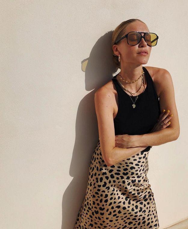 La jupe léopard de Pernille Teisbaek