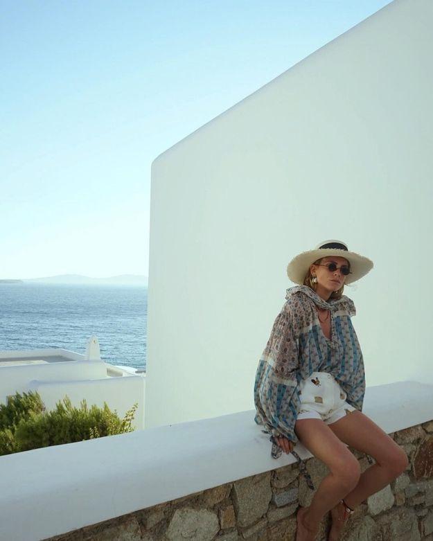 Le look estival de Bianca Miro