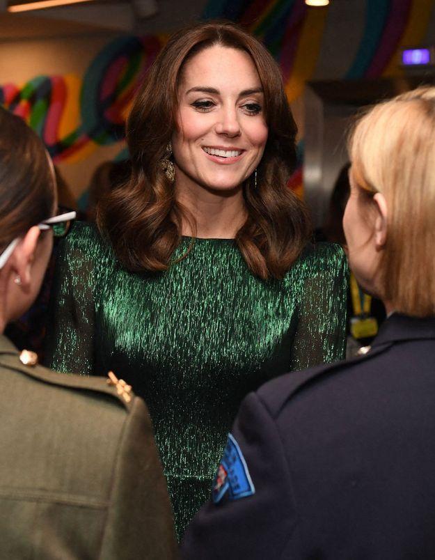 Kate Middleton porte la même robe qu'une célèbre influenceuse