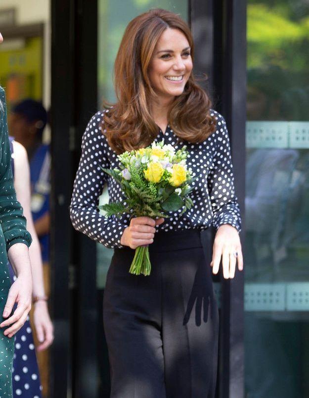 Kate Middleton porte une pièce canon Zara à moins de 40€