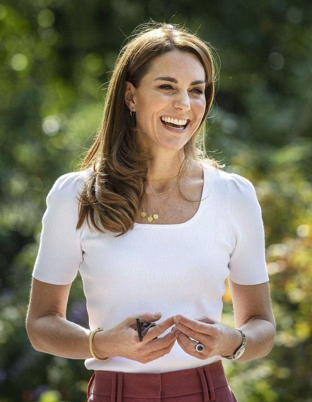 Kate Middleton s'affiche dans un look décontracté parfait pour l'automne