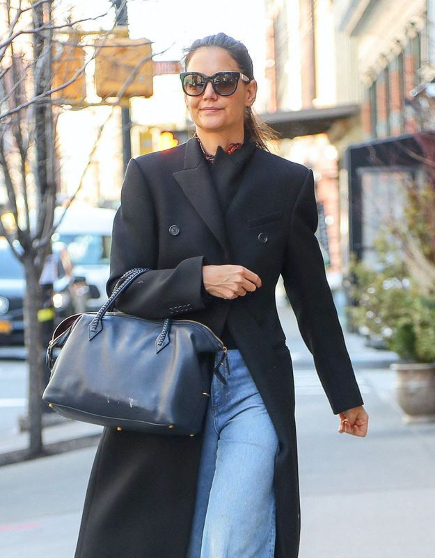 Katie Holmes : son astuce imparable pour rendre tous ses jeans originaux