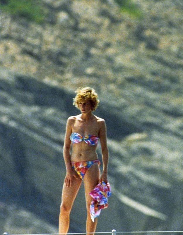 Un bikini arc-en-ciel