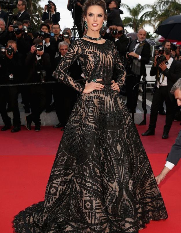 Alessandra Ambrosio au Festival de Cannes 2018