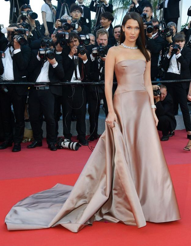 Bella Hadid au Festival de Cannes 2018