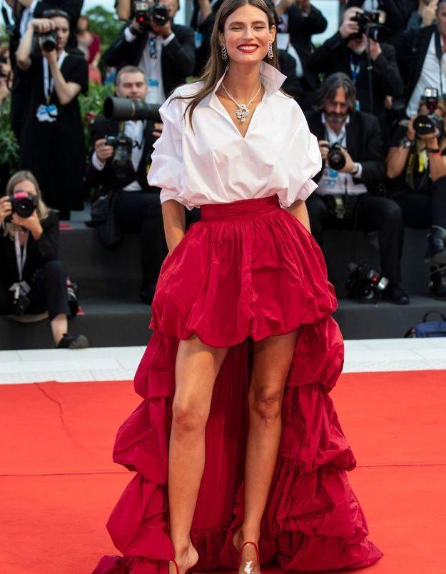 Bianca Balti à la Mostra de Venise 2018