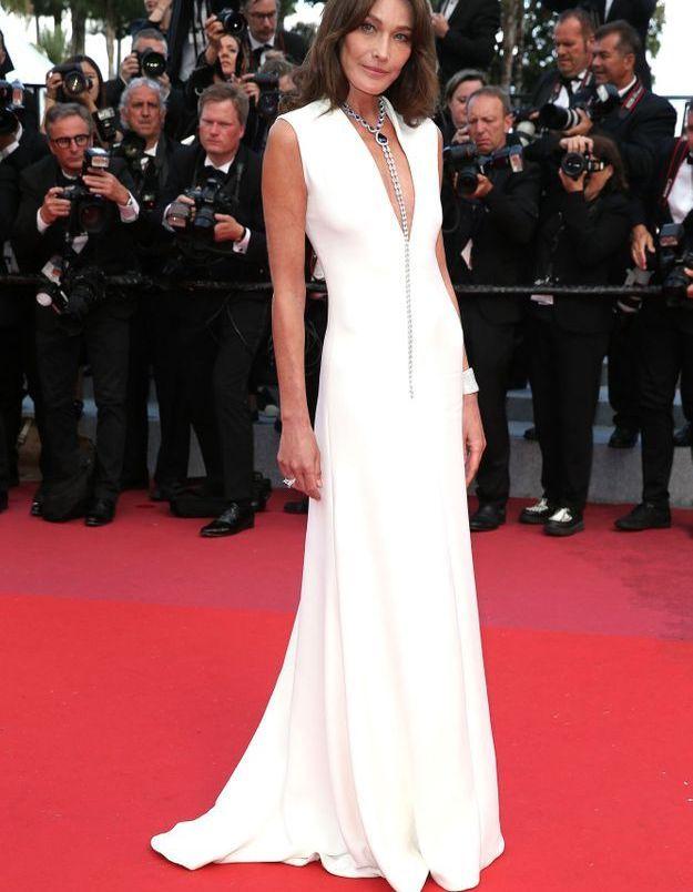 Carla Bruni au Festival de Cannes 2018