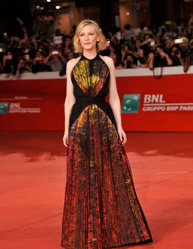 Cate Blanchett au Rome Film Festival 2018