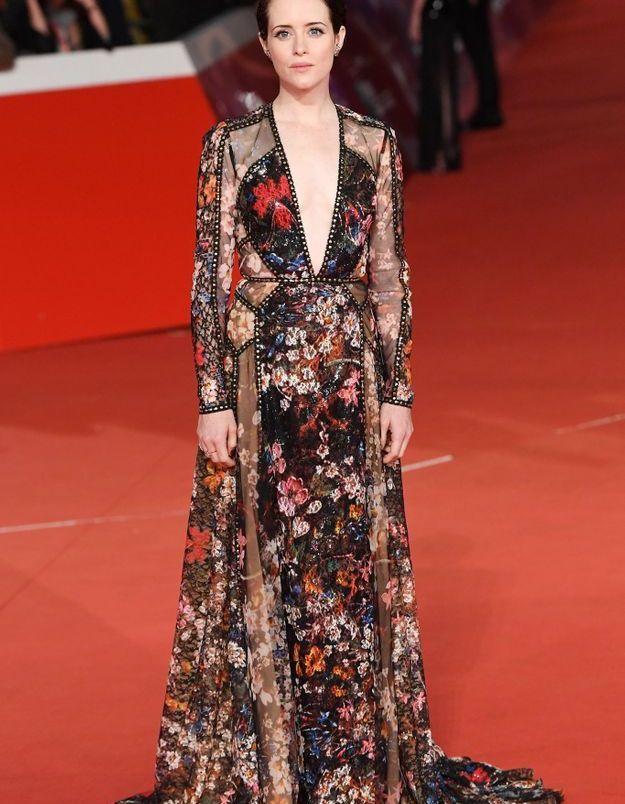 Claire Foy au Rome Film Festival 2018