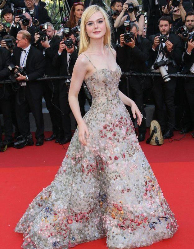 Elle Fanning au Festival de Cannes 2017