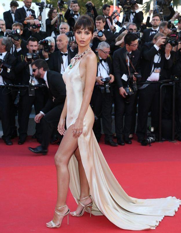 Emily Ratajkowski au Festival de Cannes 2017