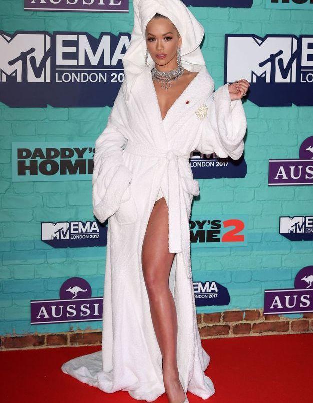 Rita Ora aux MVT EMA 2017