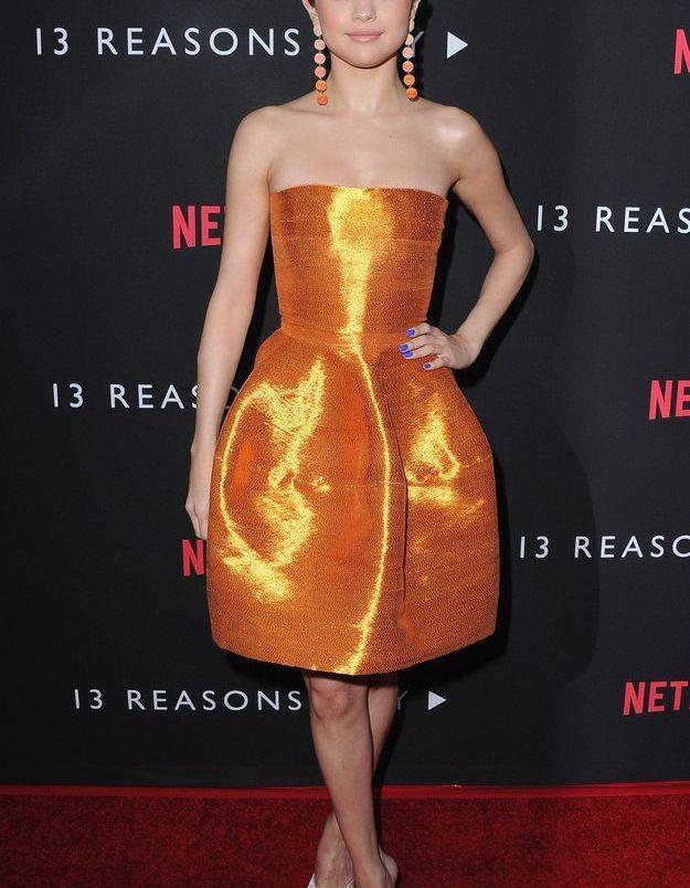 "Selena Gomez à la première de ""13 Reasons Why"""
