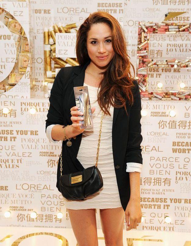 Blazer et robe crème en 2012