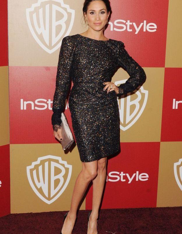 En 2013, elle brille de mille feux avec une robe à sequins.
